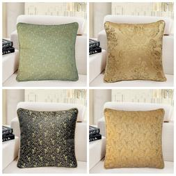 "16x16"" Vintage Luxury Jacquard Throw PILLOW COVER Sofa Couch"