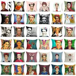 18'' Almofada Frida Kahlo Throw pillows case sofa Bed cushio