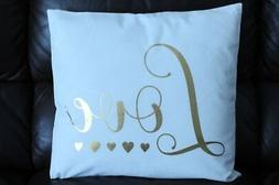 18 in. Throw Pillow Love