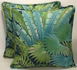 "2 18"" Tommy Bahama Bahamian Breeze Peninsula Decorative Thro"
