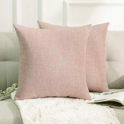 2 Home Brilliant Textured Throw Pillows Covers Decoration Pi