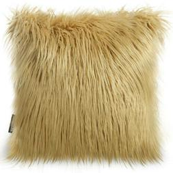 2 Phantoscope Merino Style Faux Fur Series Decorative Throw