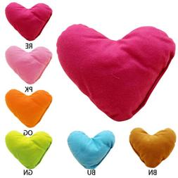 2 Pcs Cushions Cute Heart Shape decorative throw pillows Sma