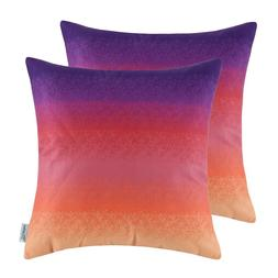 2PCS Square <font><b>CaliTime</b></font> <font><b>Throw</b><