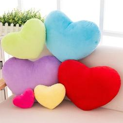 30cm Heart Shape Decorative Throw Pillow PP Cotton Soft Crea