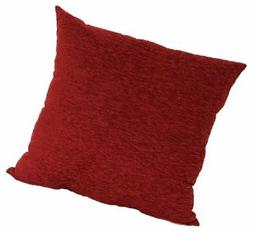Brentwood 3438 Crown Chenille Floor Cushion, 24-Inch, Rio Re