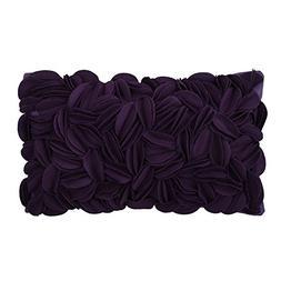 KingRose 3D Hand Woven Personalized Throw Pillow Covers Wool