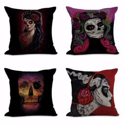 4pcs set throw pillow cover for couch cushion covers sugar s