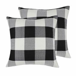 4Th Throw Pillow Covers Emotion 20 X Inch Black And White Bu