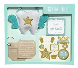 C.R. Gibson Child Keepsake Tooth Fairy Kit with Stickers, 65