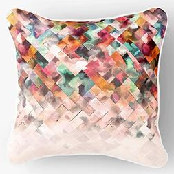 Lume.ly - Modern Ombre Geometric Colorful Pattern Design Dec