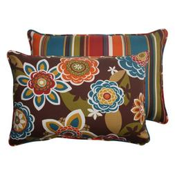 Pillow Perfect Outdoor Annie Westport Reversible Corded Over