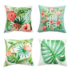 Set of 4,Soft Velvet Decorative Throw Pillow Cover Case set