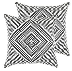 TreeWool Throw Pillow Cover Kaleidoscope Accent Pure Cotton