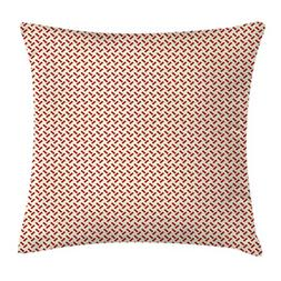 Ambesonne Abstract Throw Pillow Cushion Cover, Ten Geometric