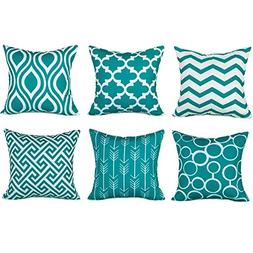 Top Finel Accent Decorative Throw Pillow Cases Durable Canva