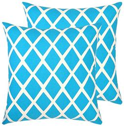 Bath Bed Decor Pack of 2 Accent Decorative Throw Pillow Cove