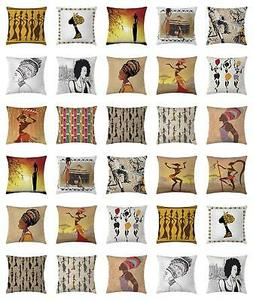 Africa Throw Pillow Cases Cushion Covers Ambesonne Home Deco