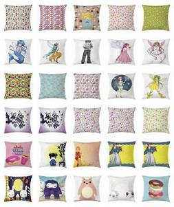 Anime Throw Pillow Cases Cushion Covers by Ambesonne Home De