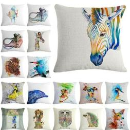art animal car decor pillows pillowslip throw