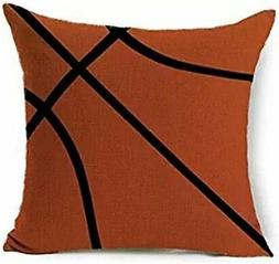 Sports Basketball Design Throw Pillow Case Personalized Cush