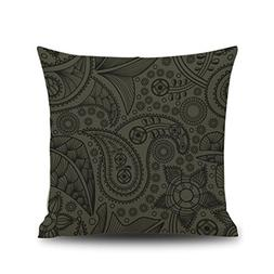 Kimloog Bohemian Geometry Pattern Linen Cushion Covers Sofa