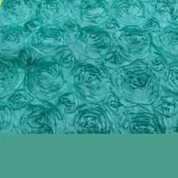 CaliTime 2 Pack Floral Teal Cushion Covers Throw Pillow Case