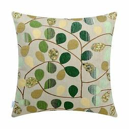 CaliTime Cushion Cover Throw Pillow Case Shell Couch Sofa Ho