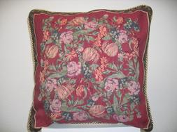 DaDa Bedding CC-5594 Field of Roses Woven Cushion Cover, 18-