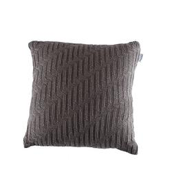 SINOGEM Chair Double-Side Cable Knit Cotton Throw Pillow Cov