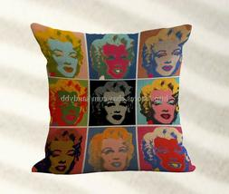 cheap pillow covers cheap outdoor throw pillows Marilyn Monr