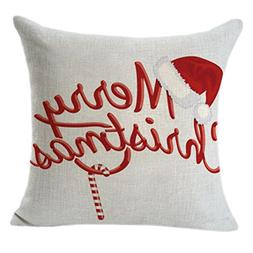 Christmas Pillow Covers, Loxokonva Xmas Series Throw Pillow