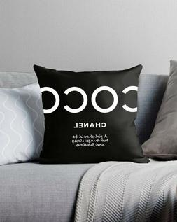 coco classy and fabulous pillow throw cover