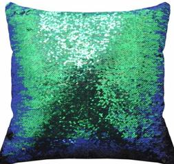 Color changing throw pillow