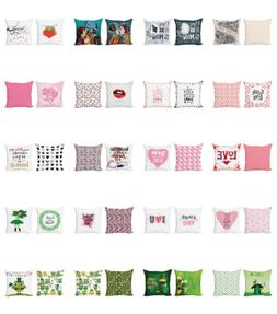 colorful throw pillow cushion case pack of