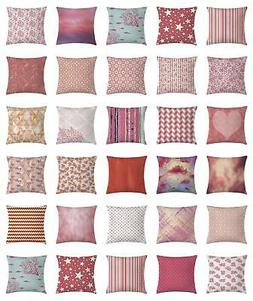 Coral Throw Pillow Cases Cushion Covers Home Decor 8 Sizes A