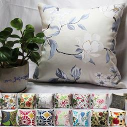 TangDepot 100% Cotton Floral/Flower Printcloth Decorative Th