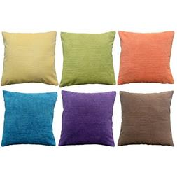 Daidu Cotton Modern Decorative Sofa Couch Square Throw Pillo