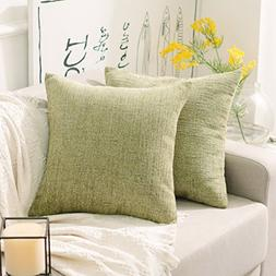 HOME BRILLIANT Cushion Cover with Zipper for Bed Home Decor