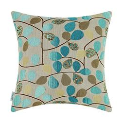 CaliTime Cushion Cover Throw Pillow Case Shell for Couch Sof
