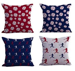 WholesaleSarong set of 4 cushion covers American flag color