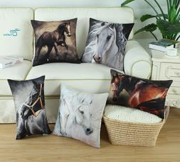 CaliTime Cushion Covers Pillow Cases Cover Bolster Case Wild