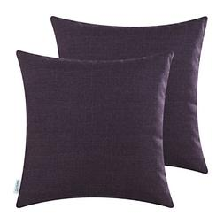 CaliTime Pack of 2 Throw Pillow Covers Cases Couch Sofa Home