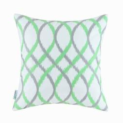 Calitime Cushion Covers Throw Pillow Cover Cases Two-tone Wa