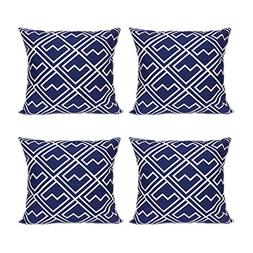 FanHomcy Cushion Covers Vintage Geometric Decorative Throw P