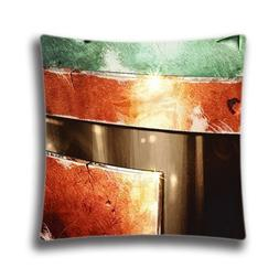 Custom Style Pillowcase Size 18x18 inches with Boba Fett Hel