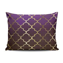SALLEING Custom Hot Romantic Purple and Brown Blend Gold Qua