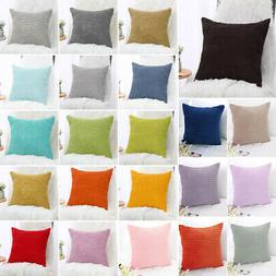 Decor Throw Pillow Covers Square Pillowcase Cushion Cover 18