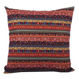 Jahosin Decorative Bohemian Style Cushion Cover Throw Pillow