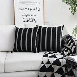HOME BRILLIANT Decorative Country Throw Pillow Covers Modern